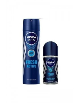NİVEA İKİLİ DEODORANT FRESH ACTİVE+ROLL-ON (BAY)