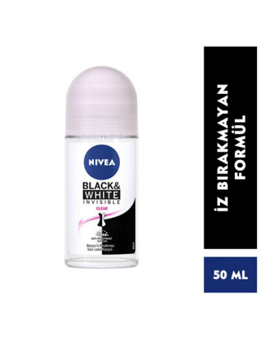NİVEA ROLL-ON İNVİSİBLE CLEAR BAYAN