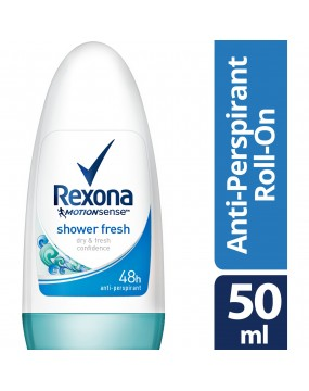 REXONA ROLL-ON 50ML SHOWER FRESH (BAYAN)